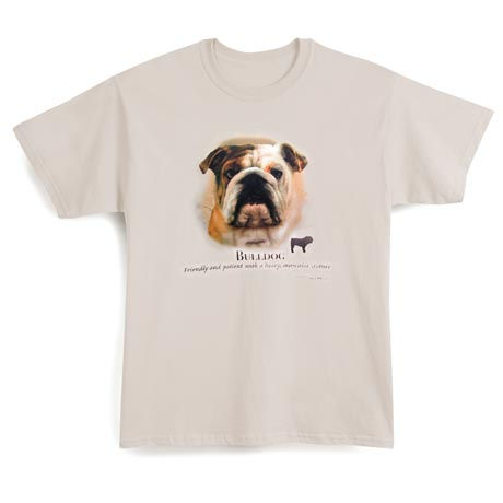 Dog Breed Shirts - Bulldog