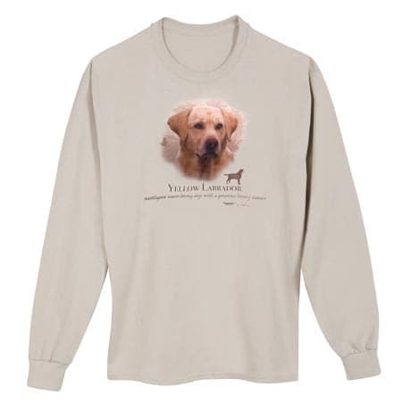 Dog Breed Shirts - Yellow Lab