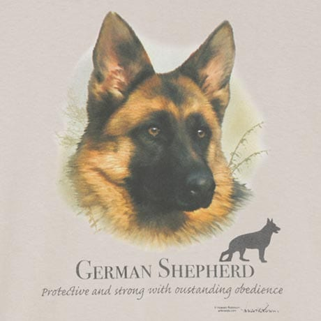 Dog Breed Shirts - German Shepherd