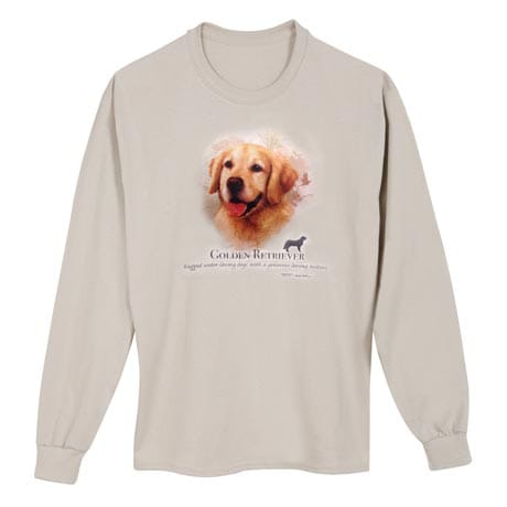 Dog Breed Shirts - Golden Retriever