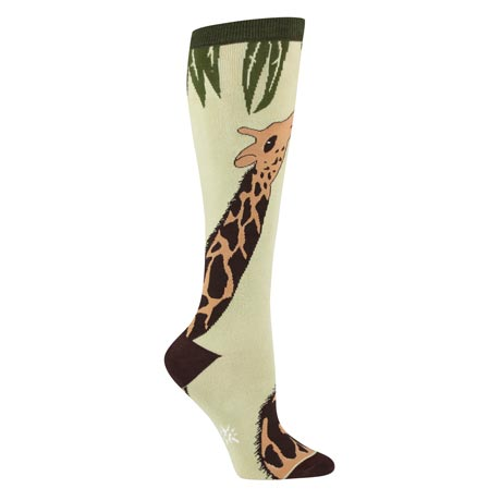 Wildlife Knee-Highs - Giraffe