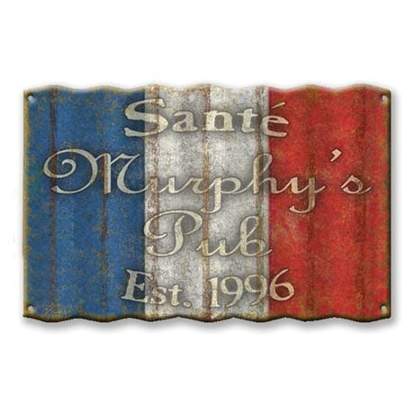 Personalized International Flag Signs - France