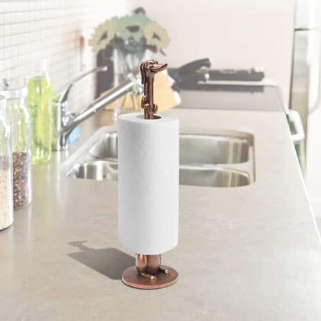 Dachshund Dog Toilet Paper Holder