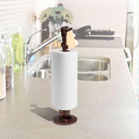 Dachshund Dog Toilet Paper Holder