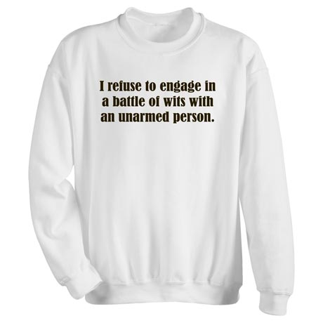 Battle Of Wits Sweatshirt