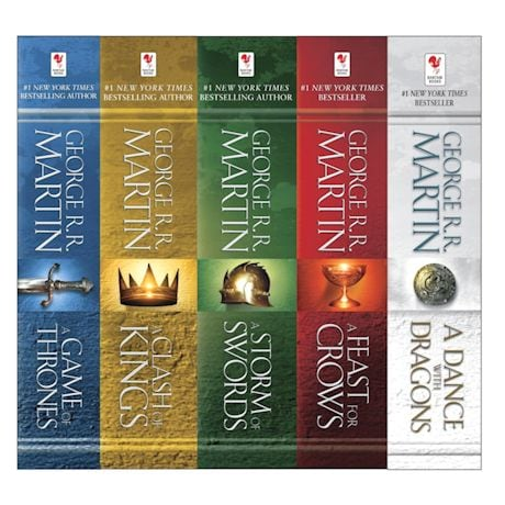 Game Of Thrones Books - Boxed Set