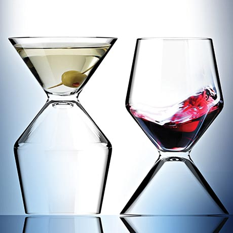 2 in 1 Combo Martini and Wine Glass