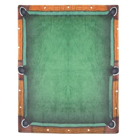 Pool Table Throw