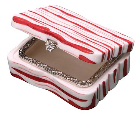 Porcelain Bacon Box