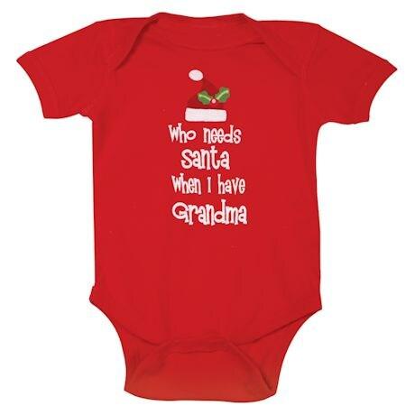 Who Needs Santa Snapsuit