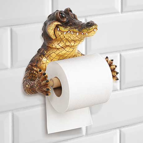 Crocodile Paper Holder