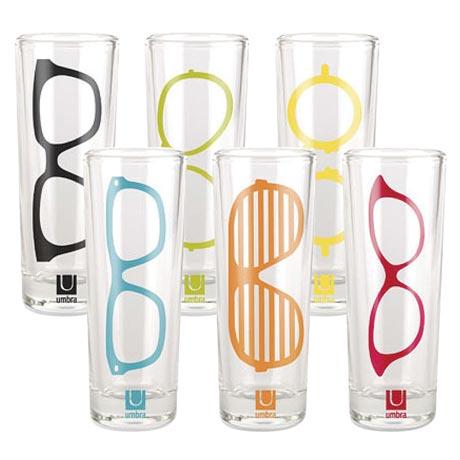 Eyeglasses Shot Glasses Set