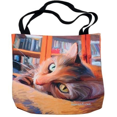 Cat Tote Bag - Tabby