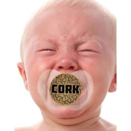 Funny Face Pacifiers - Cork