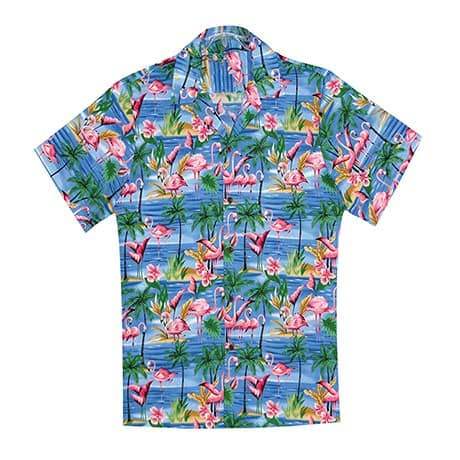 Flamingo Camp Hawaiian Shirt