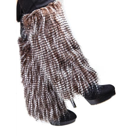 Sassy Faux-Fur Boot Covers