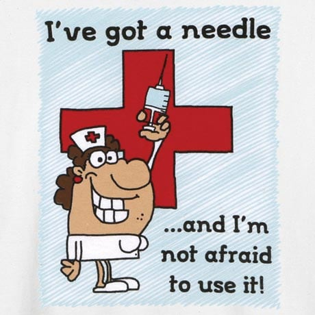 I've Got A Needle T-Shirt