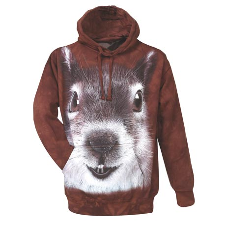 Squirrel Face Hooded