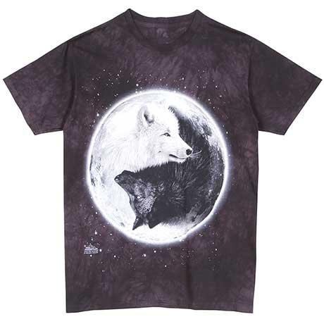 Yin-Yang Wolves T-Shirt