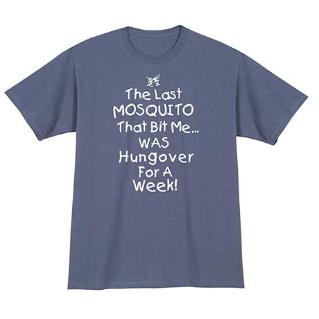 Mosquito Hangover T-Shirt