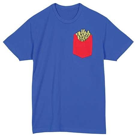 Foodie Pocket  T-Shirt - Fries