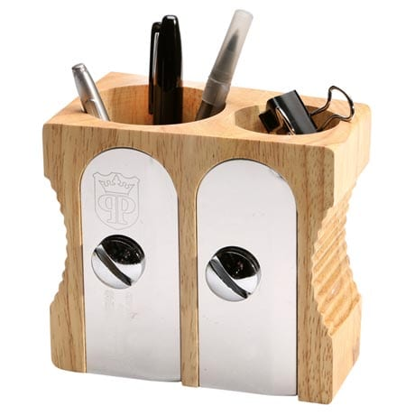 Sharpener Desk Organizer - Double