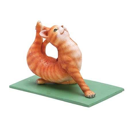 Yoga Cats- Tabby