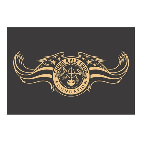 Chris Kyle Epic Flag Shirt - Frog Foundation Supports American Sniper Hero