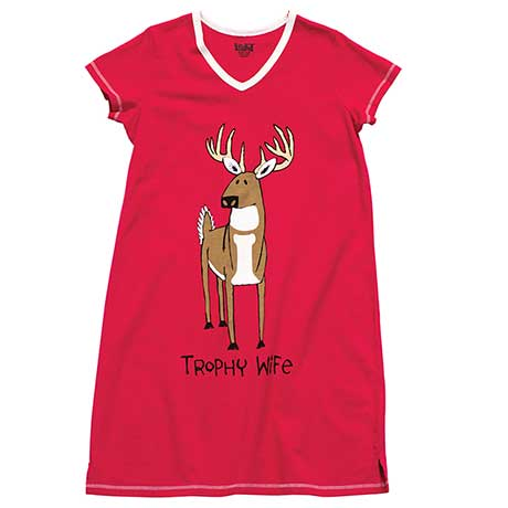 Trophy Wife Sleepshirt