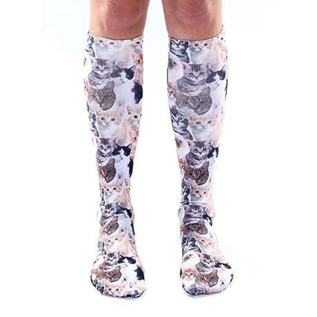 Kitty Knee High Socks
