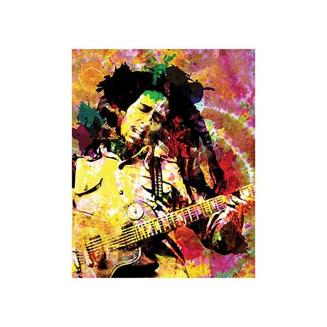 Bob Marley Songs Of Freedom Stretched Canvas