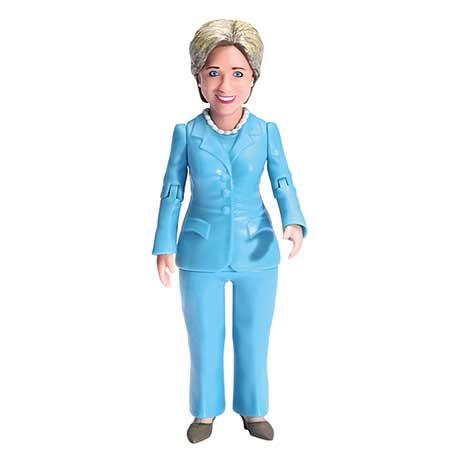 "Hillary Clinton 6"" Action Figure"