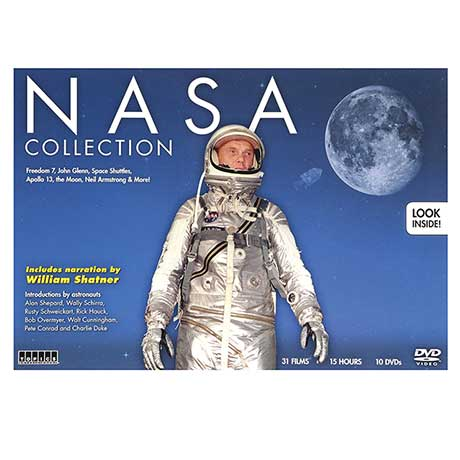 NASA Space History 10 DVD Collection