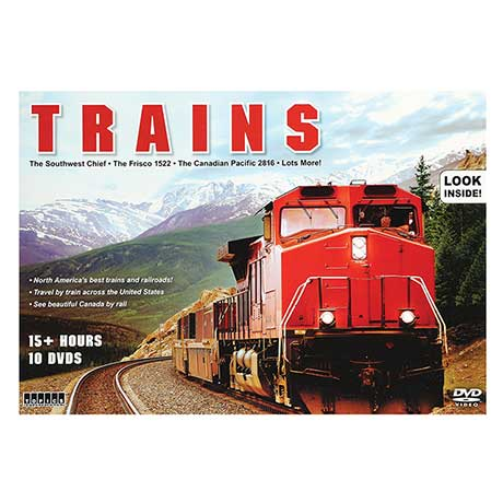 Best Trains And Railroads DVD Collection