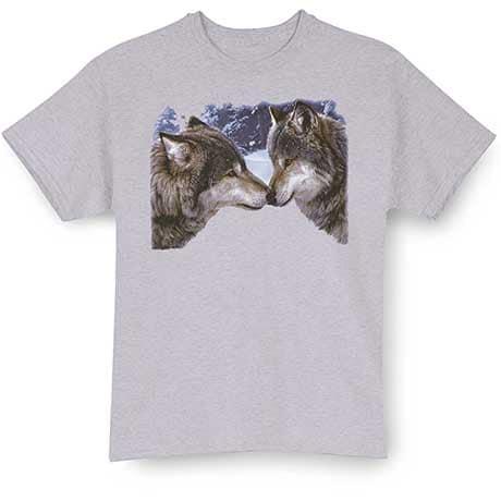 Wolf Kiss T-Shirt