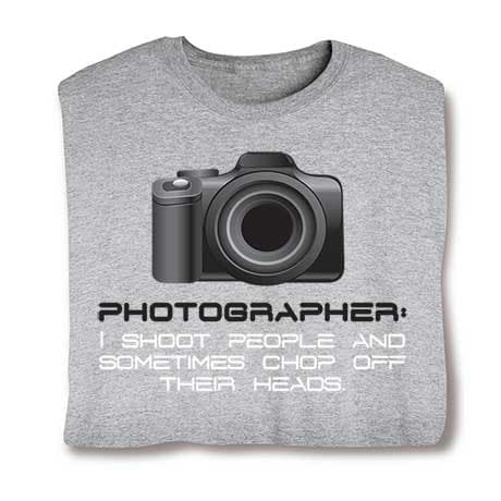 Photographer I Shoot People Sweatshirt