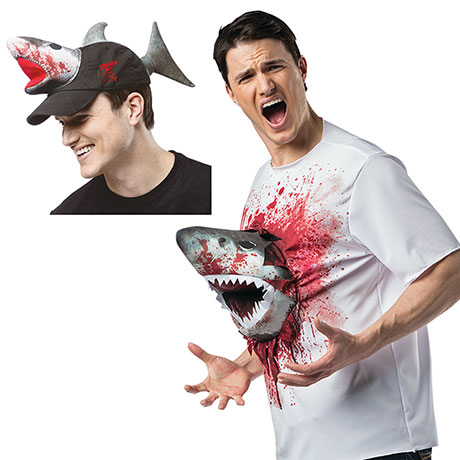 Sharknado Gift Pack Men's 3D Tshirt and Hat