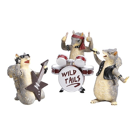 Wild Tails Rock Band Set