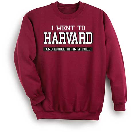 "Personalized I Went To ""Your School"" Sweatshirt"