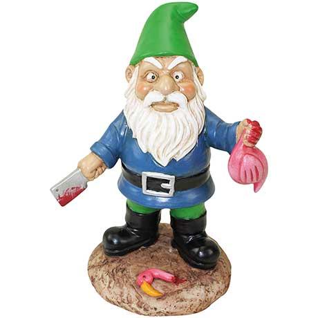 """Butcher Garden Gnome 9-1/2"""" Tall"""