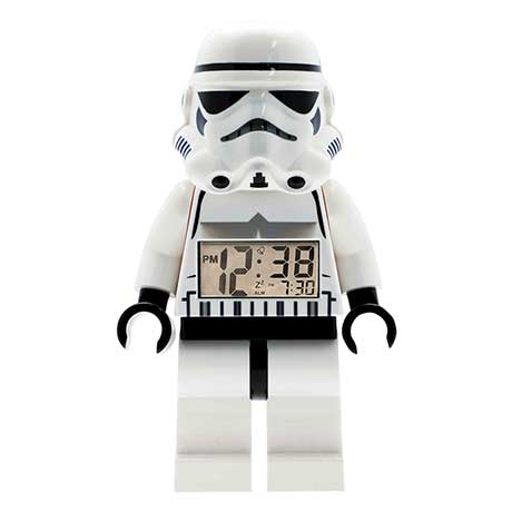 Lego Star Wars Digital Alarm Clocks Storm Trooper