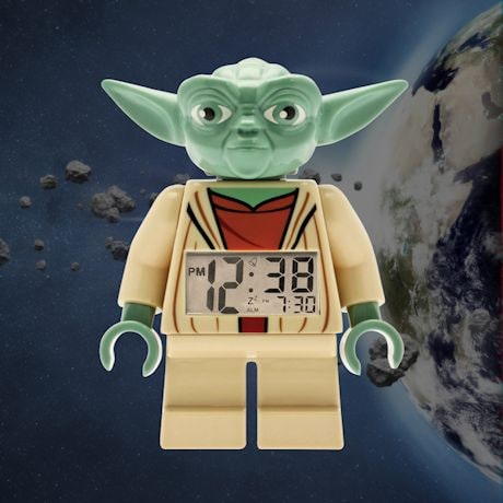 Lego Star Wars Digital Alarm Clocks Yoda