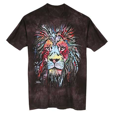 Colorful Animal T-Shirt- Lion
