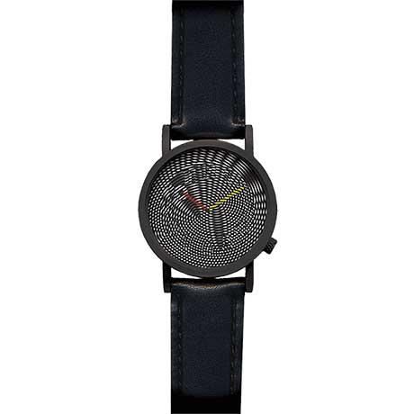 Moiré Optical Art Watch