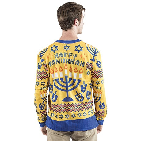 Sublimated Holiday Happy Hanukkah T-Shirt