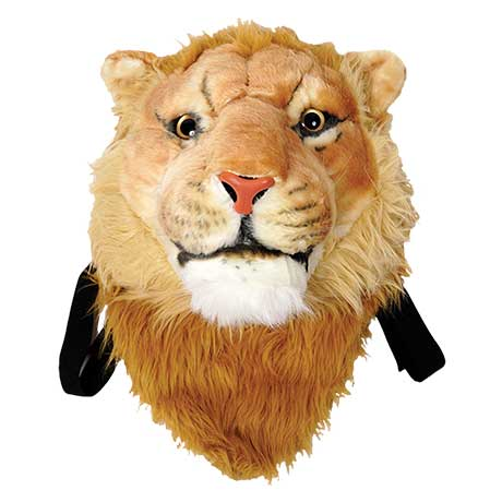 Animal Head Backpack Lion