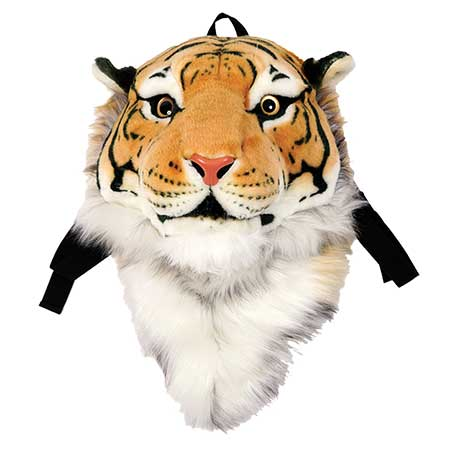 Bengal Tiger Animal Head Backpack