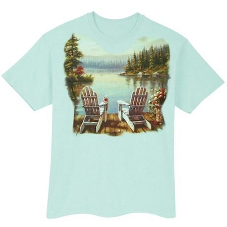 Lake Morning Coffee T-Shirt