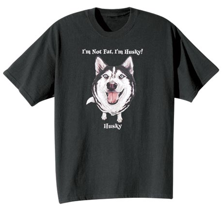 Dog Breed Tee- Husky