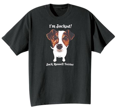 Dog Breed Tee- Jack Russell Terrier
